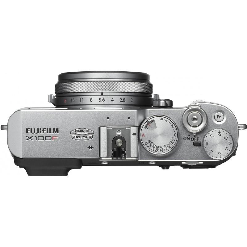 Fujifilm X100F, hõbedane