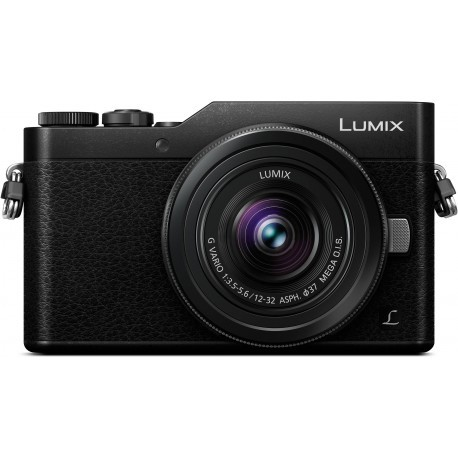 Panasonic Lumix DC-GX800 + 12-32mm Kit, melns