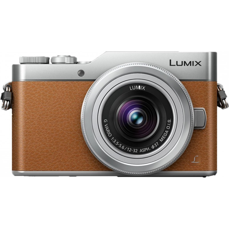Panasonic Lumix DC-GX800 + 12-32mm Kit, brown