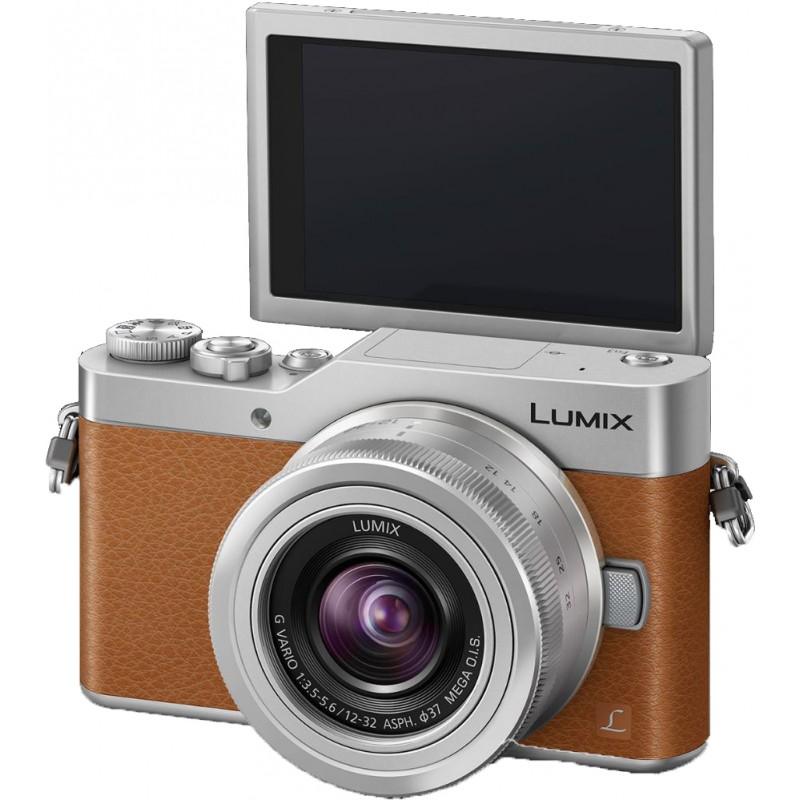 Panasonic Lumix DC-GX800 + 12-32mm Kit, brown