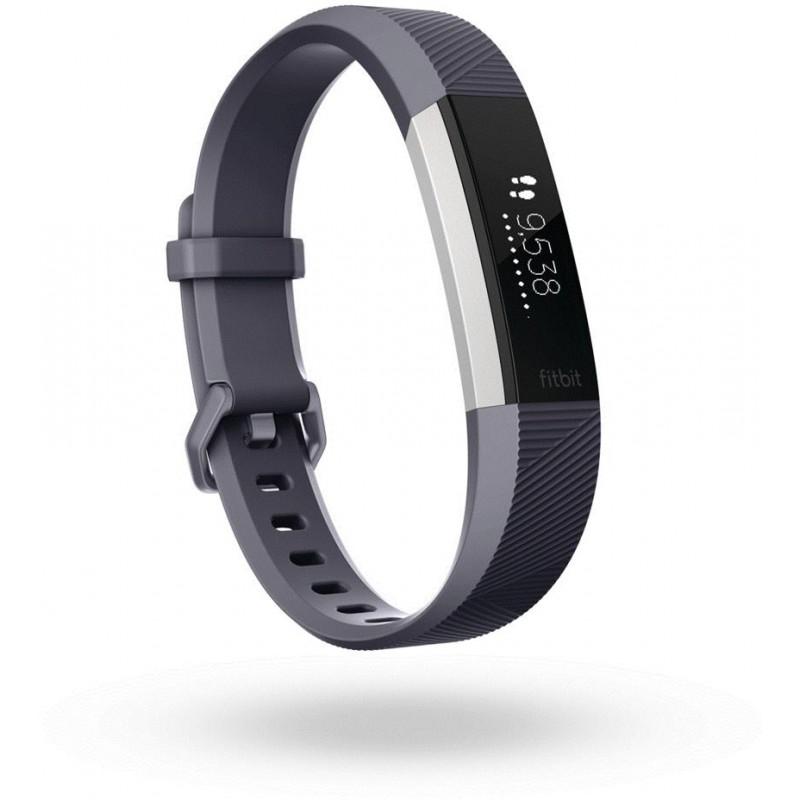 Fitbit трекер активности Alta HR L, синий-серый