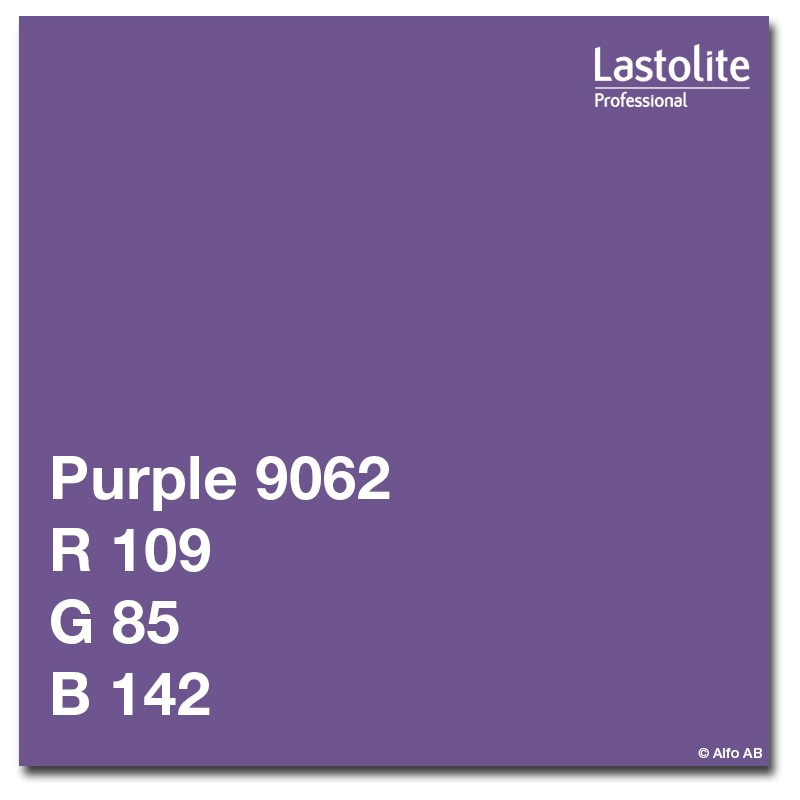 Lastolite paberfoon 2,75x11m, lilla (9062)