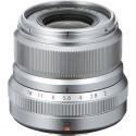 Fujinon XF 23mm f/2.0 R WR objektiiv, hõbedane