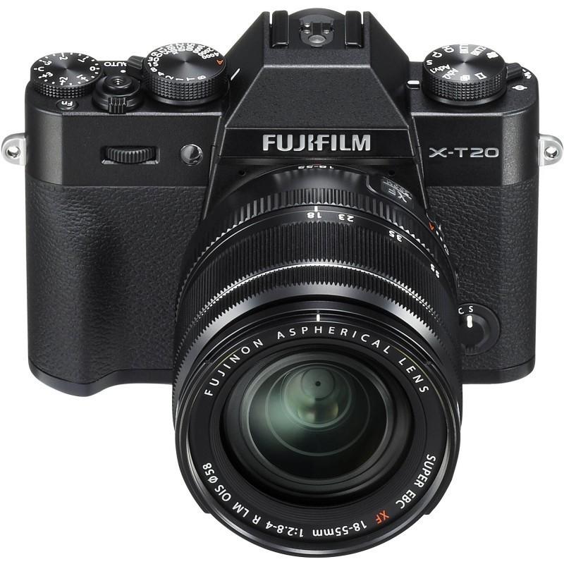 Fujifilm X-T20 + 18-55mm Kit, black
