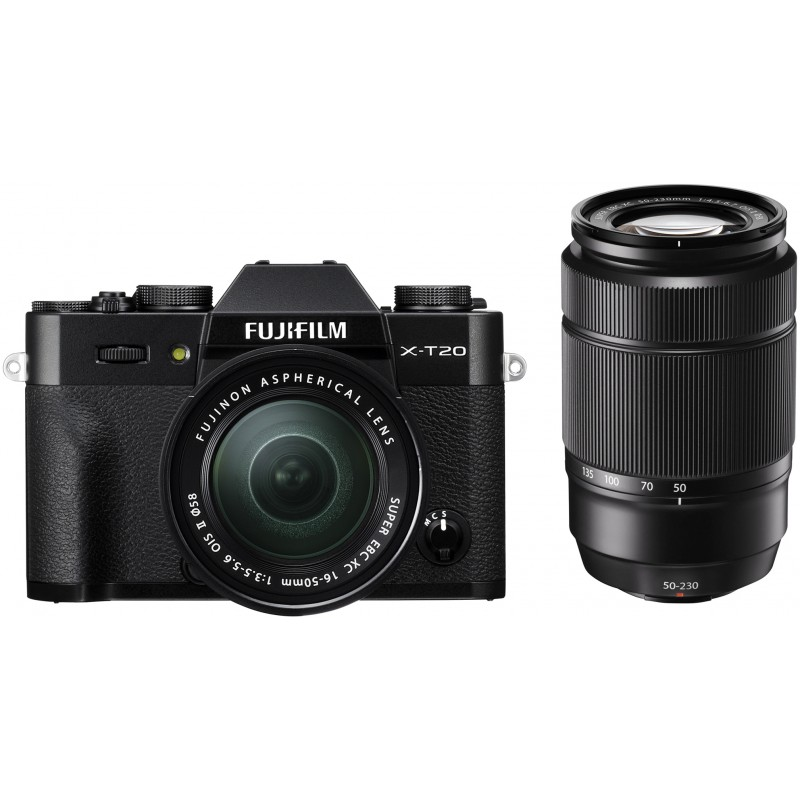 Fujifilm X-T20 + 16-50mm + 50-230mm Kit, must