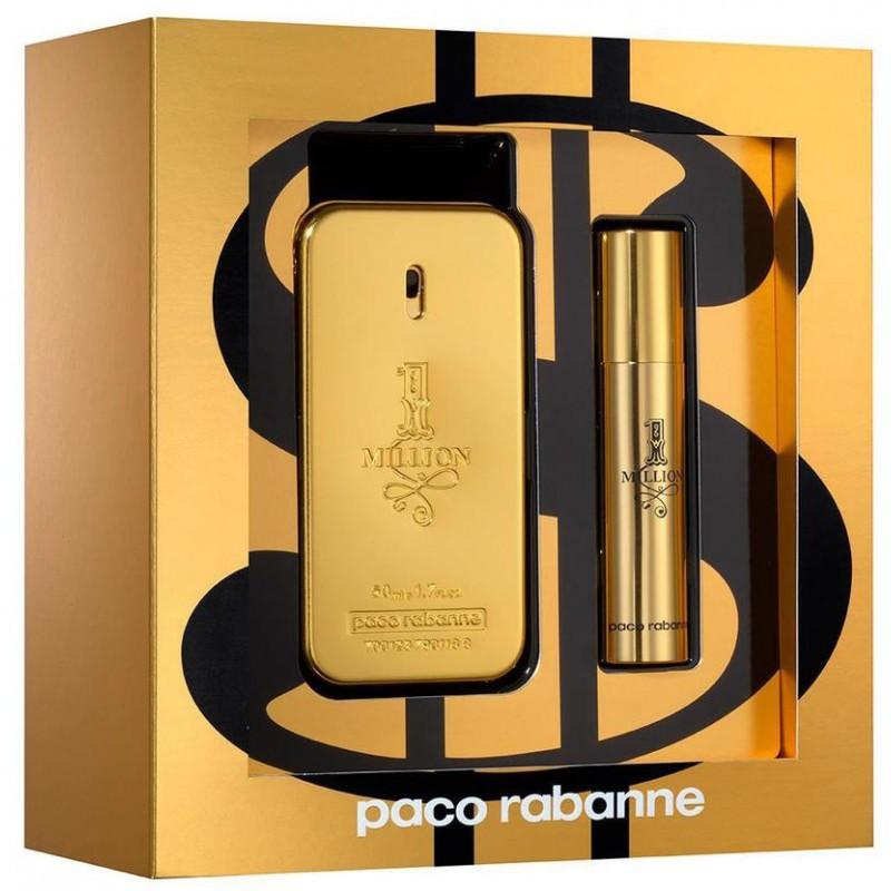 paco rabanne 1 million pour homme eau de toilette 50ml 10ml perfumes fragrances photopoint