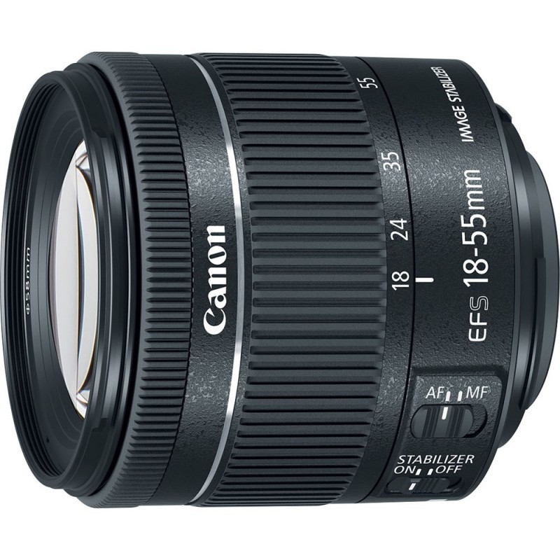Canon EF-S 18-55mm f/4-5.6 IS STM objektiiv
