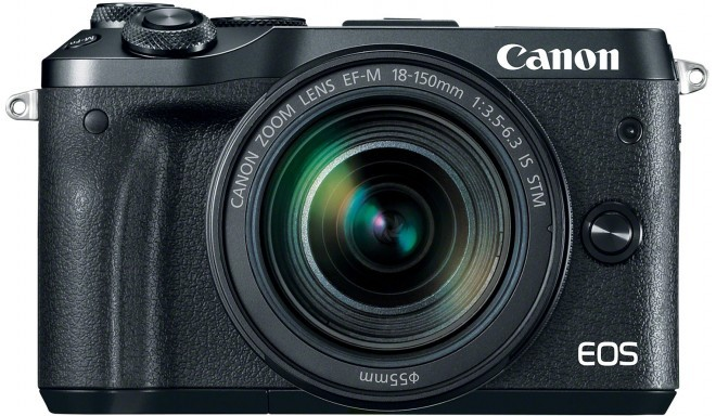 Canon EOS M6 + EF-M 18-150mm IS STM Kit, must