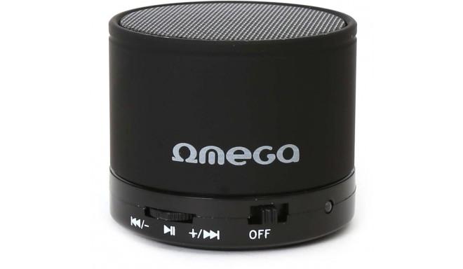 Omega Bluetooth kõlar V3.0 Alu 3in1 OG47B, must (42643)