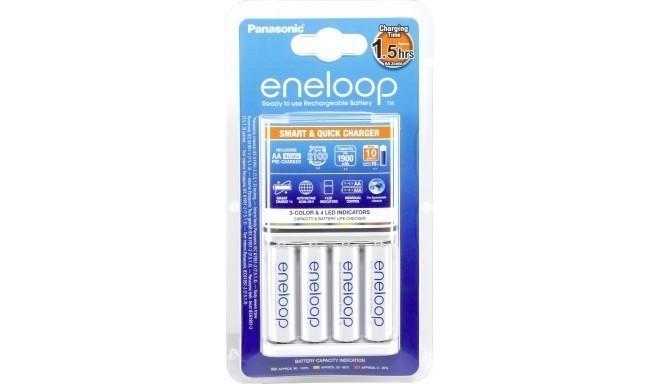 Panasonic eneloop зарядка BQ-CC55 + 4x1900