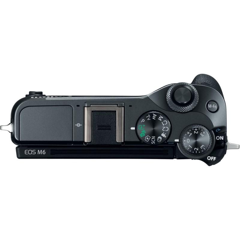 Canon EOS M6 body, black