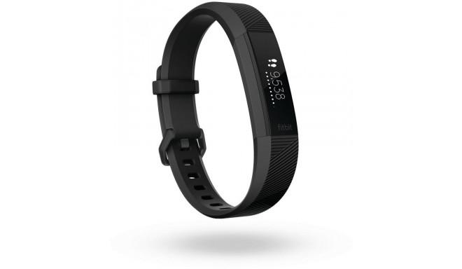 Fitbit aktivitātes trekeris Alta HR L, melns/metālisks