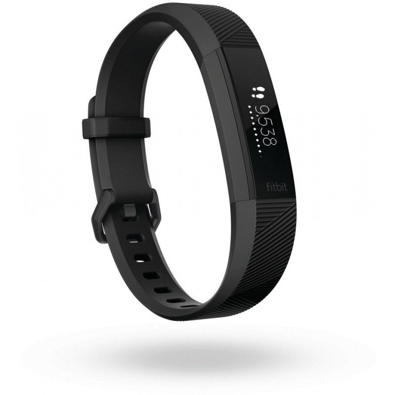 Fitbit activity tracker Alta HR L, black/gunmetal