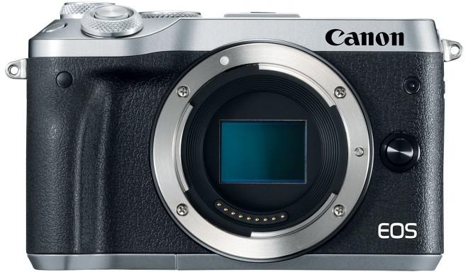 Canon EOS M6 kere, hõbedane