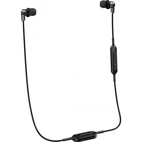 Panasonic наушники + микрофон RP-NJ300BE-K, черный
