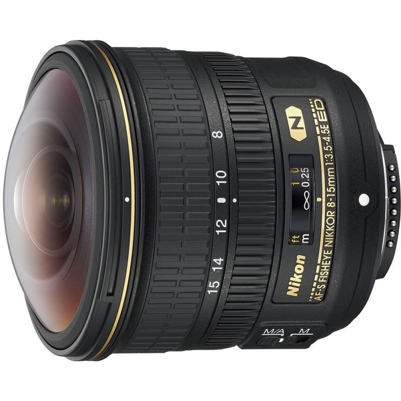 Nikon AF-S Fisheye Nikkor 8-15mm f/3.5-4.5E ED objektiiv