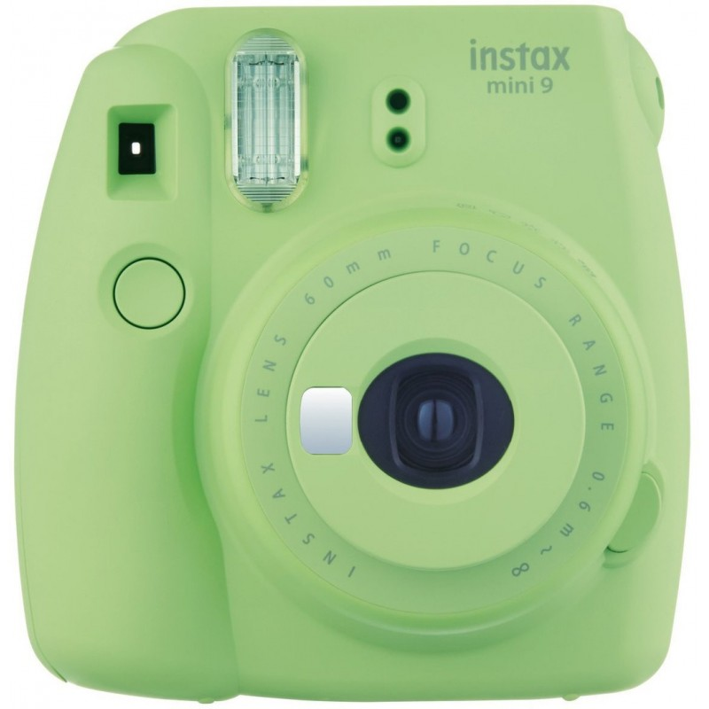 Fujifilm Instax Mini 9, lime green + Instax Mini paber