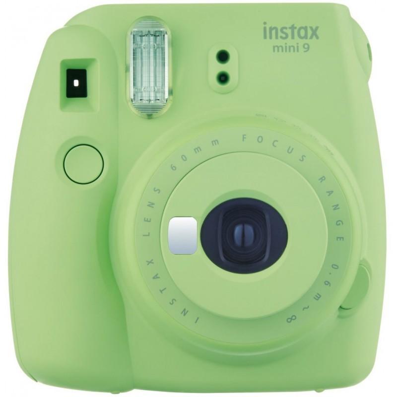 Fujifilm Instax Mini 9, lime green + Instax Mini paber