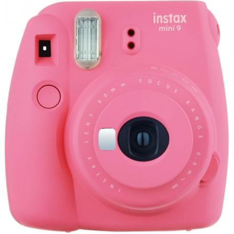 Fujifilm Instax Mini 9, flamingo pink + Instax Mini бумага