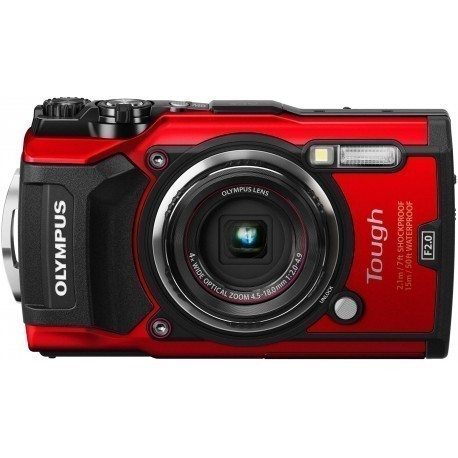 Olympus Tough TG-5, красный