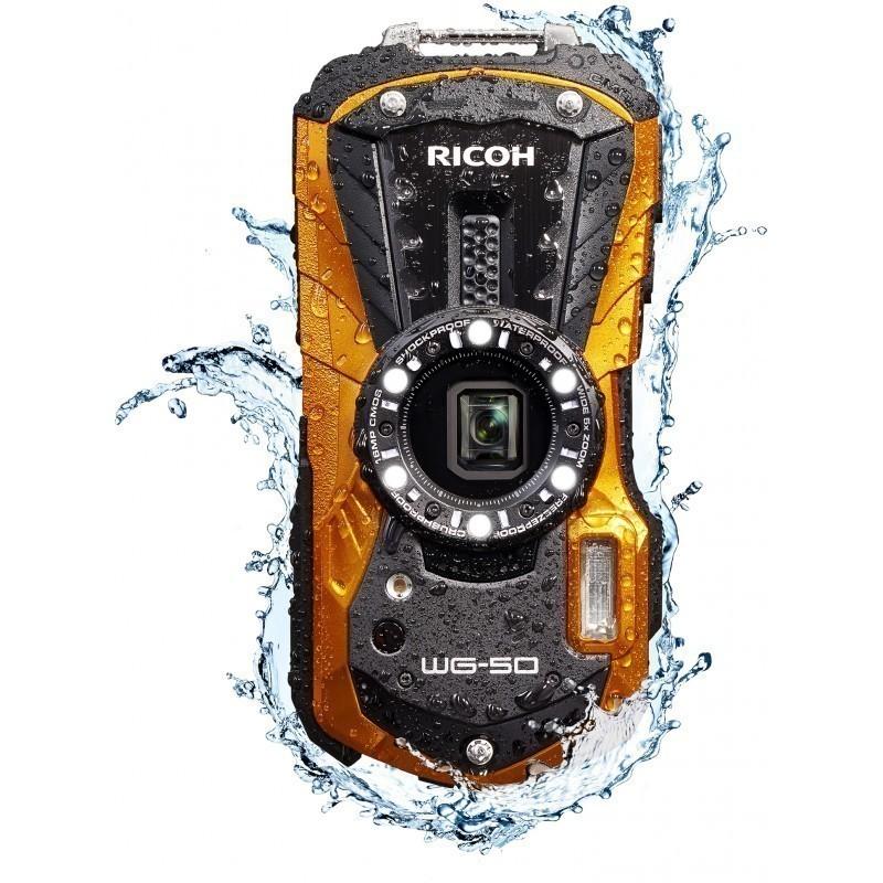 Ricoh WG-50, oranž