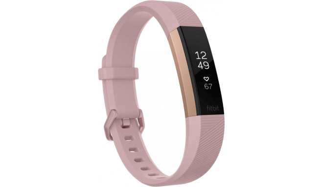 Fitbit aktiivsusmonitor Alta HR L, roosa/rose gold