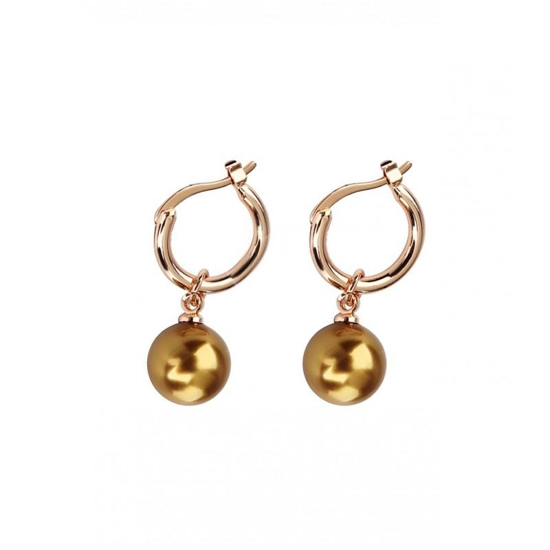0f76a69a706 OiOi Rippuva kuldse pärliga kõrvarõngad - Kõrvarõngad - Photopoint