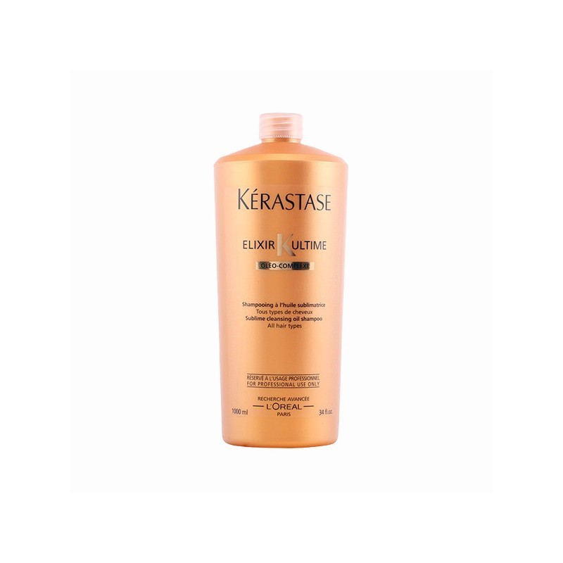 kerastase elixir ultime shampooing a lhuile sublimatrice. Black Bedroom Furniture Sets. Home Design Ideas