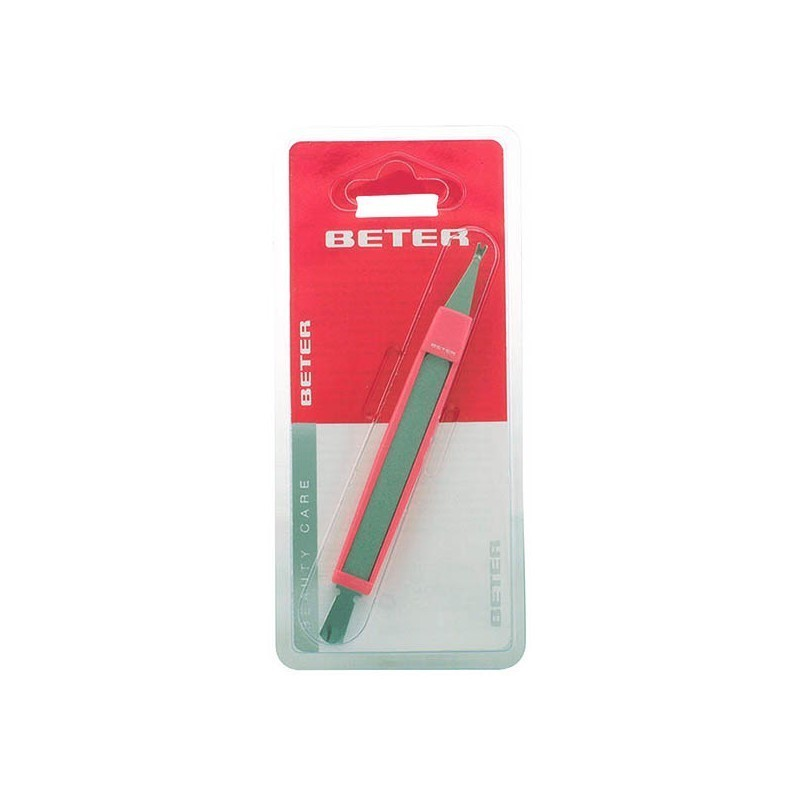 Beter - CUTICLE CUTTER with cuticle pusher and nail file 1 pz ...