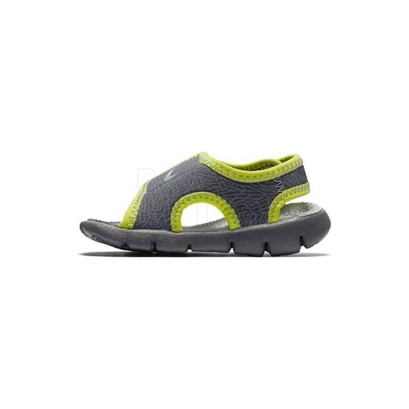 7e04cada37c Sandaalid NIKE SUNRAY ADJUST 4 hall/kollane - Sandals - Photopoint