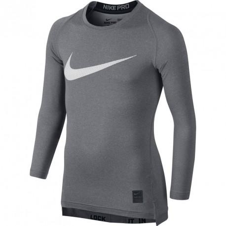 941188549b1f Children compression shirt Nike Pro Cool HBR Compression Long Sleeve Top  Junior 726460-091