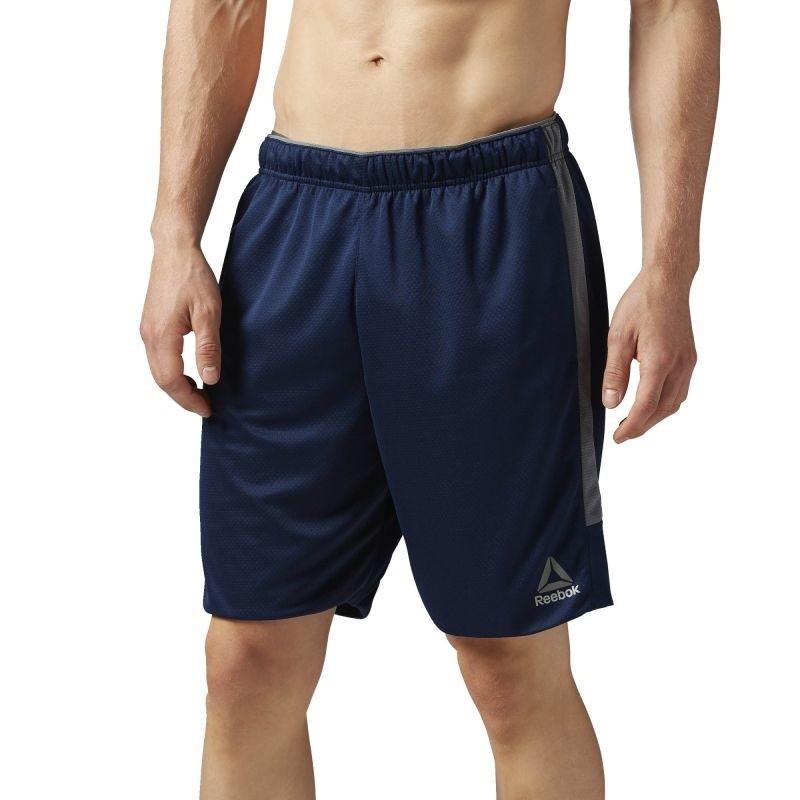 38d5539f73a76b Training pants Reebok Workout Ready Knit Short M BK2903 - Pants ...