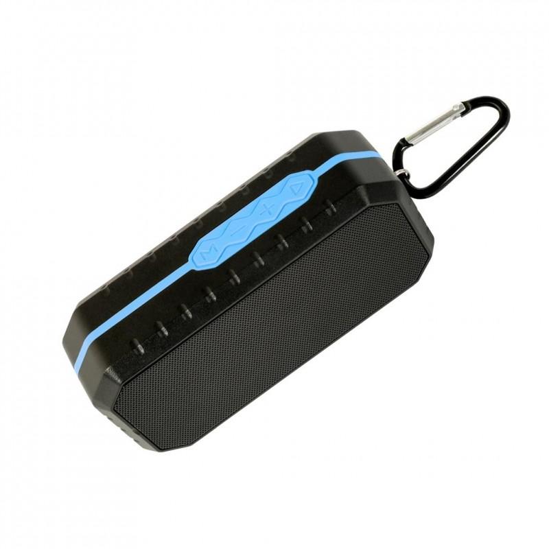 ART Mobile speaker BT with microphone, FM, SD, WATERPROOF 3W BLUE
