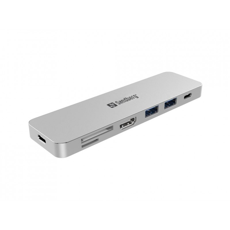 Sandberg USB-C Dock HDMI+SD+USB+USB-C