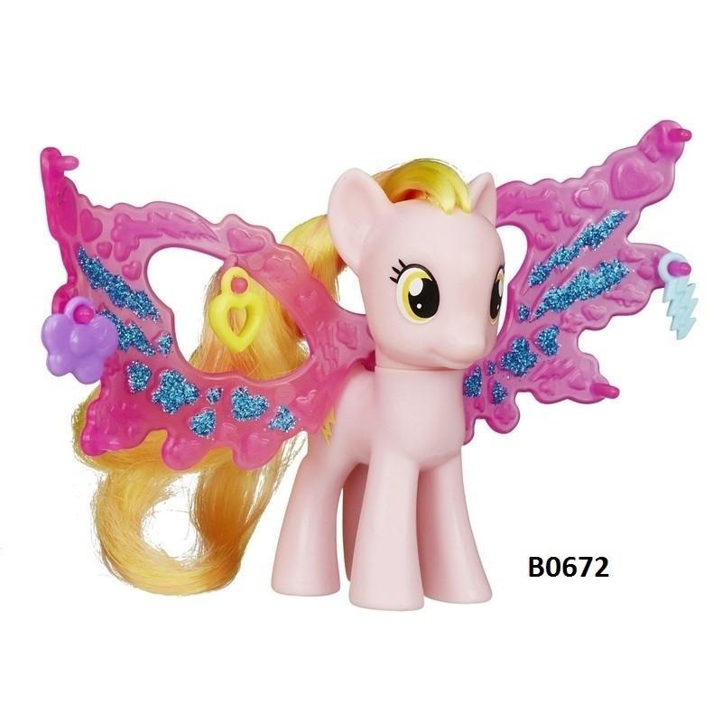 hasbro toy figure my little pony honey rays b0672  toy
