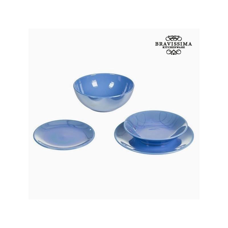Tableware (19 pcs) China crockery Light blue - Kitchenu0027s Deco Collection by Bravissima Kitchen  sc 1 st  Photopoint & Tableware (19 pcs) China crockery Light blue - Kitchenu0027s Deco ...
