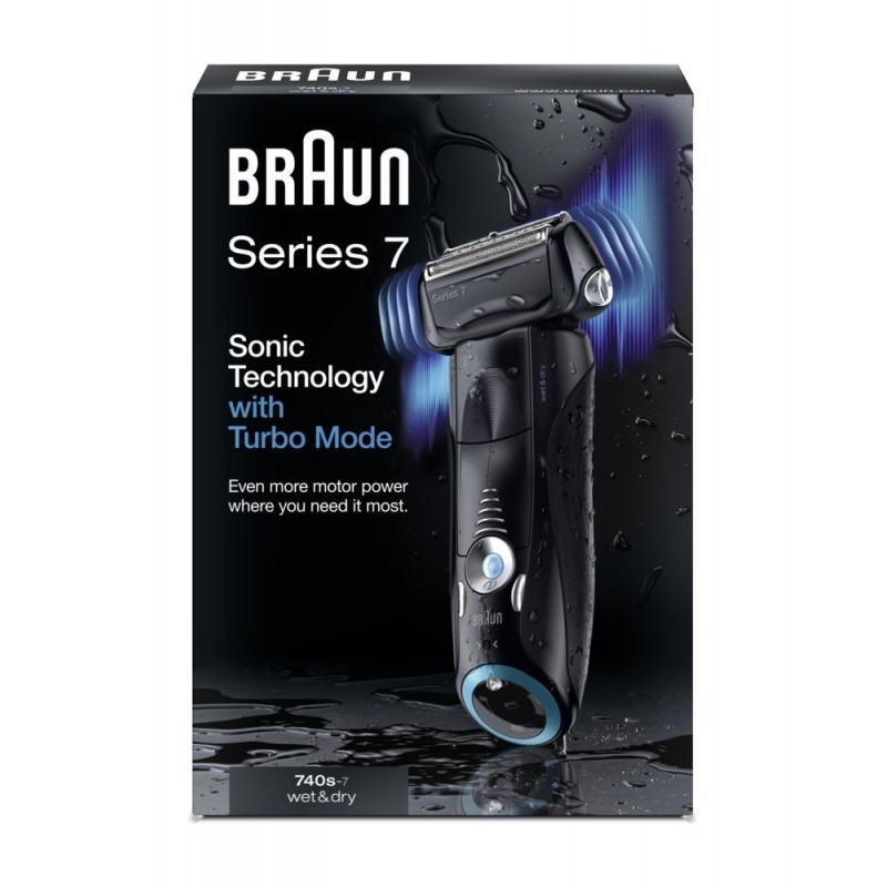 braun shaver 740s series 7 new gen black shavers photopoint. Black Bedroom Furniture Sets. Home Design Ideas