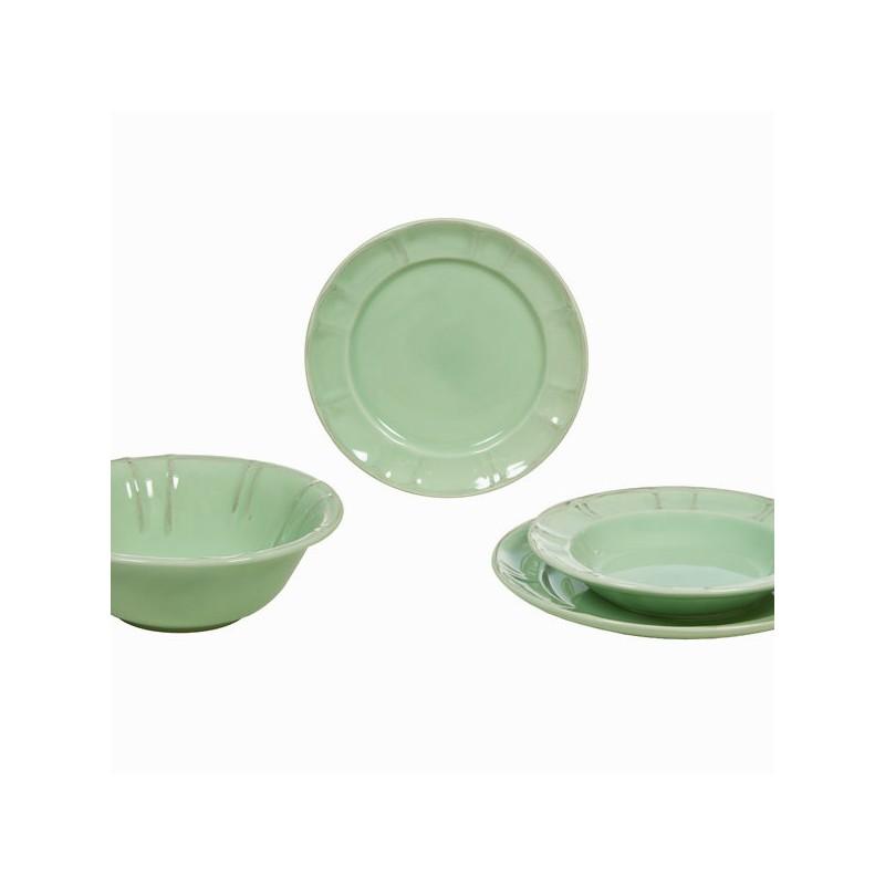 Green 19 piece dinner set - Kitchenu0027s Deco Collection by Bravissima Kitchen  sc 1 st  Photopoint & Green 19 piece dinner set - Kitchenu0027s Deco Collection by Bravissima ...