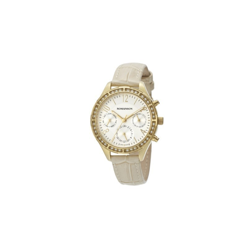 e73c5656371 Romanson Sports RL4261FL1GAS1G Ladies Watch - Ladies watches ...