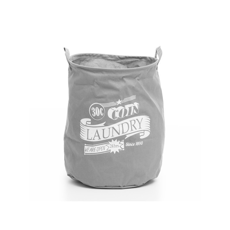 Wagon Trend Grey Laundry Bag