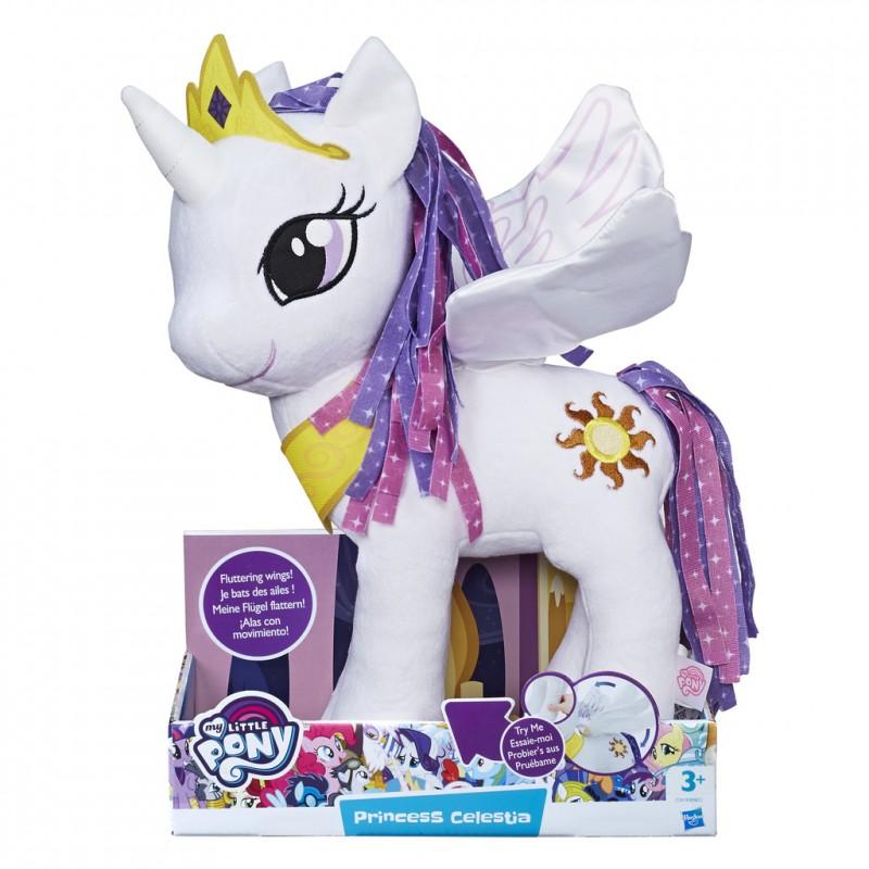 my little pony stuffed toy pony with wings princess luna