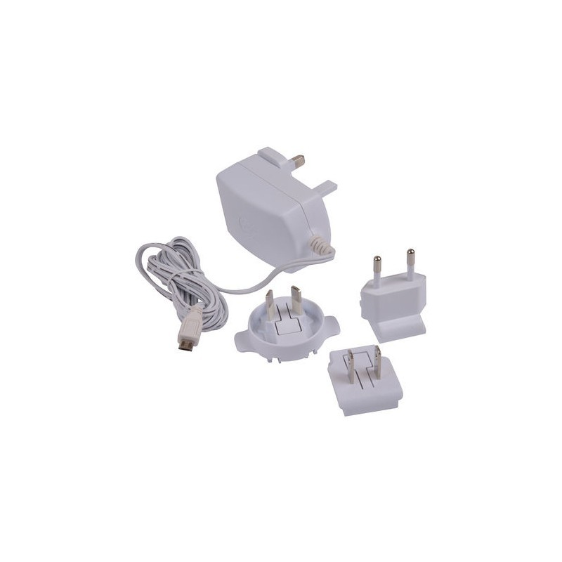 Raspberry Pi 3 wall charger microUSB 2 5A, white (909-8126)