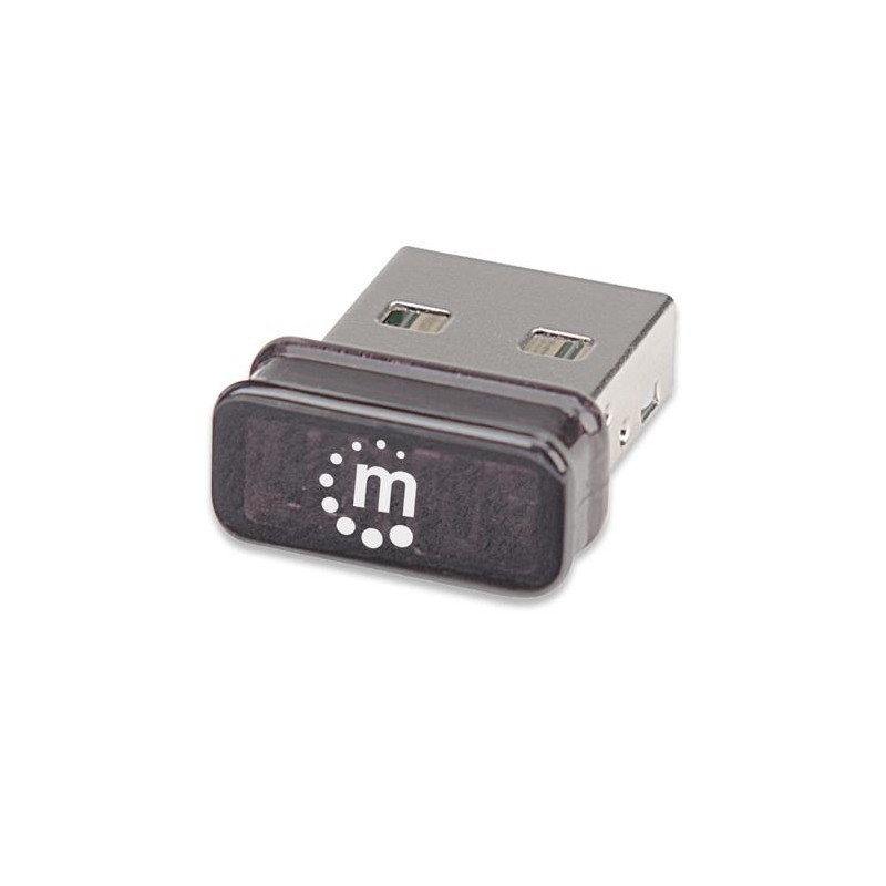 Manhattan WiFi Nano USB 2 0 Adapter, 802 11b/g/n N150 2 4GHz