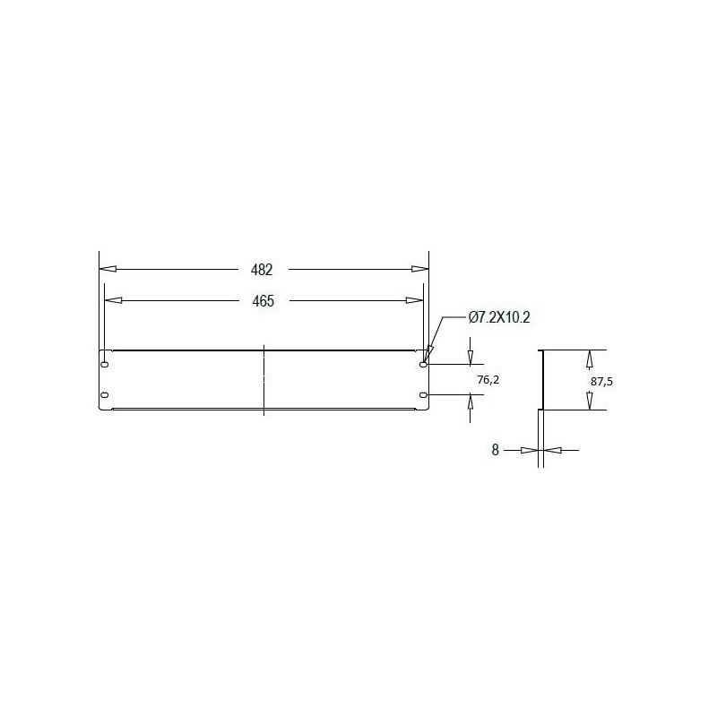 Linkbasic blanking plate 2U for 19u0027u0027 rack cabinets ...  sc 1 st  Photopoint & Linkbasic blanking plate 2U for 19u0027u0027 rack cabinets grey - Network ...