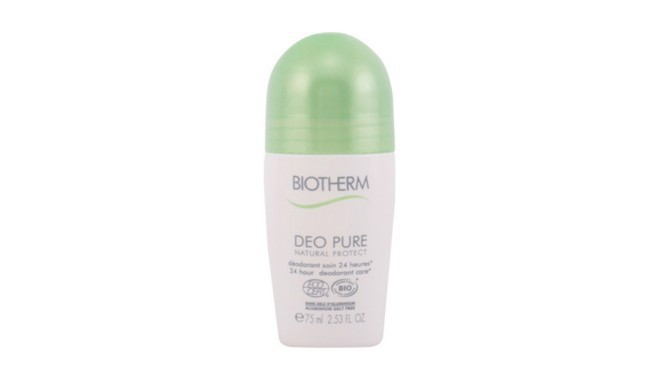 biotherm pure d o natural protect roll on 75 ml. Black Bedroom Furniture Sets. Home Design Ideas