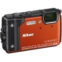 Nikon Coolpix W300 Holiday Kit, orange