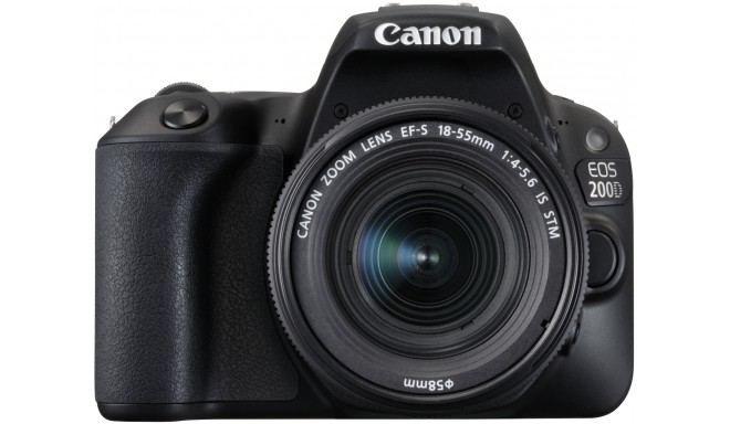 Canon EOS 200D + 18-55mm IS STM Kit, must