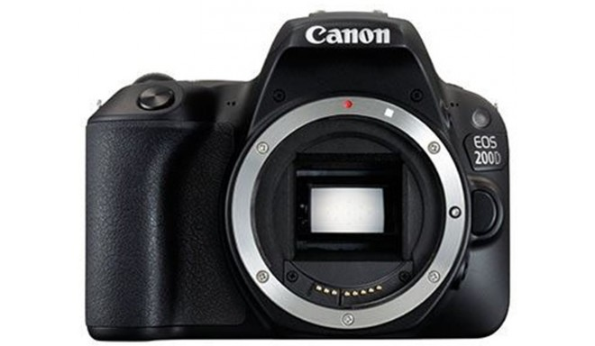 Canon EOS 200D korpuss, melns
