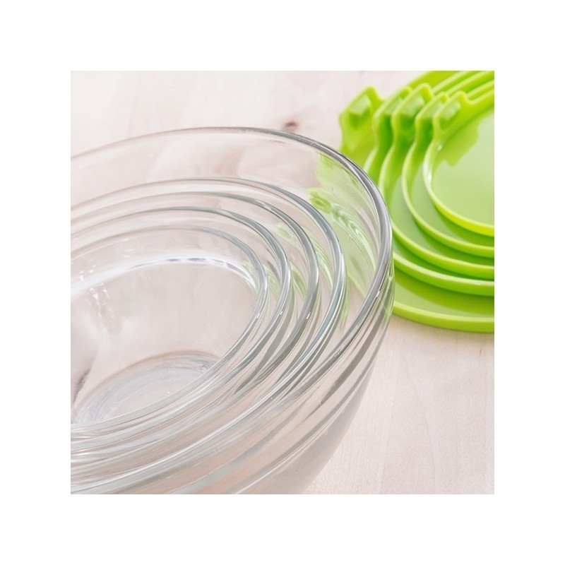 Klaaskausid (5 tk) (Roheline)