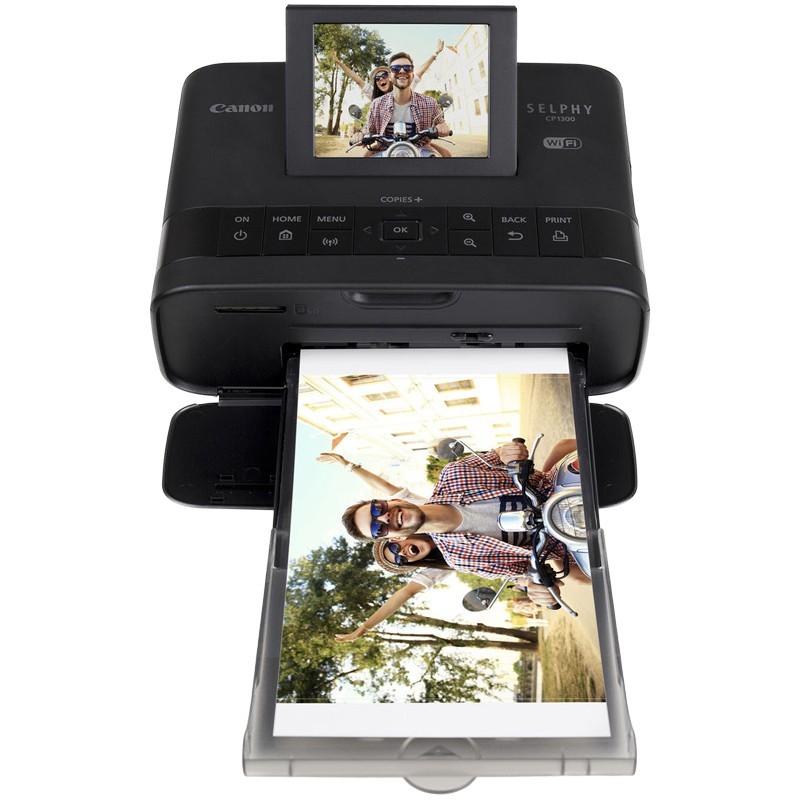 Canon photo printer Selphy CP-1300, black